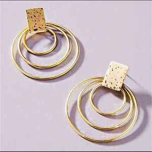Jewelry - Twist to the Classic Gold Earring